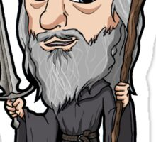 Lord of the Rings - Gandalf the Grey Sticker