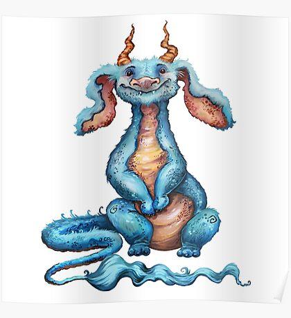 Little Luck Dragon Poster
