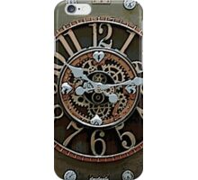 Steampunk Klokface iPhone Case/Skin