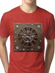 Steampunk Klokface Tri-blend T-Shirt
