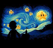 Super Starry night by jackremason