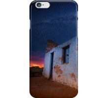 Old outback ruins, Western Australia iPhone Case/Skin
