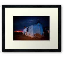 Old outback ruins, Western Australia Framed Print