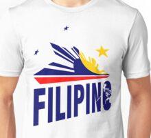 Filipino Stars and Sun Design Unisex T-Shirt