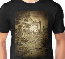 A digital painting  of Bran Castle (Dracula) Romania Unisex T-Shirt