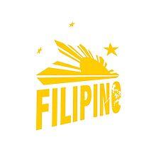 Proud pinoy - Filipino Shirt and Prints Photographic Print