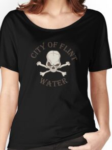 City of Flint Water  Women's Relaxed Fit T-Shirt