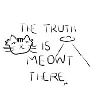 X-Files- The Truth is Meowt There by meownistryofcat