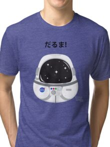 Daruma Astronaut Tri-blend T-Shirt