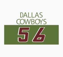 'Bootleg' Dallas Cowboys 56 Shirt Baby Tee