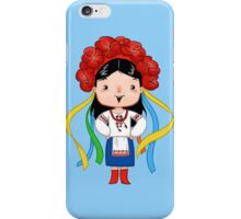 Ukrainian Girl iPhone Case/Skin