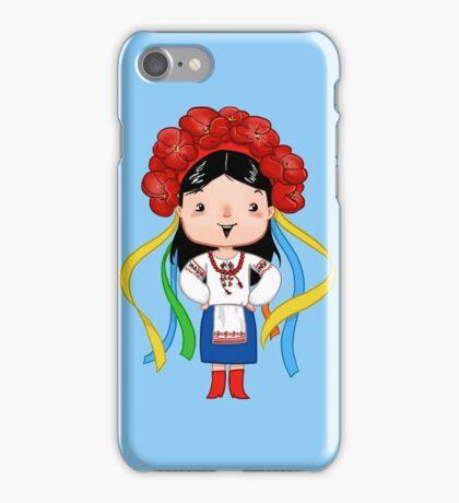 Ukrainian Girl iPhone Case/Skin