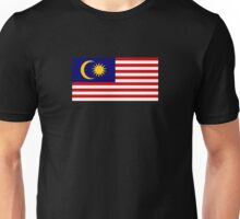 Malaysia Flag - Malaysian Sport Team Supporter T-Shirt Sticker Duvet Unisex T-Shirt