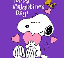 Happy Valentines Day Snoopy by koreaelek