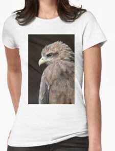 Yellow-Billed Kite - (Milvus aegyptius) Womens Fitted T-Shirt