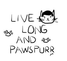 Star Trek Cat- Live Long & Pawspurr by meownistryofcat