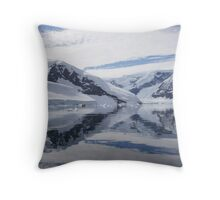 Neko Harbour, Antarctica Throw Pillow