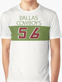 'Bootleg' Dallas Cowboys 56 Shirt Graphic T-Shirt