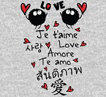 Love in many language Women's Fitted Scoop T-Shirt