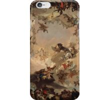 Allegory of the Planets and Continents ,  Giovanni Battista Tiepolo iPhone Case/Skin