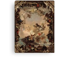 Allegory of the Planets and Continents ,  Giovanni Battista Tiepolo Canvas Print