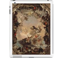 Allegory of the Planets and Continents ,  Giovanni Battista Tiepolo iPad Case/Skin