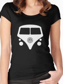 Split Window Kombi Women's Fitted Scoop T-Shirt