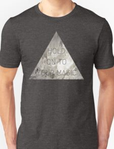 Hold on to your magic princess witch spell hex anime kawaii crystal print Unisex T-Shirt
