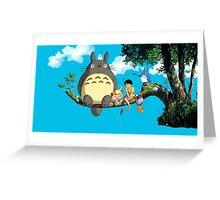 Tree Totoro Greeting Card
