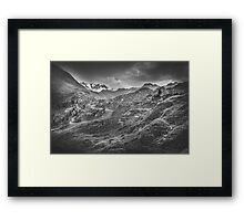 Mystic Alps III Framed Print