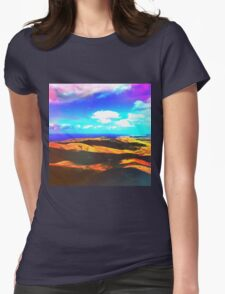 Early Mornin' Womens Fitted T-Shirt