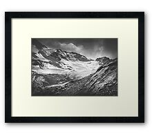 Mystic Alps II Framed Print