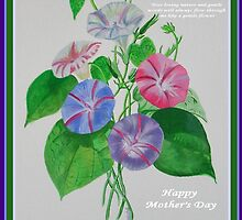 Happy Mothers Day Loving Nature And Delicate Words by taiche