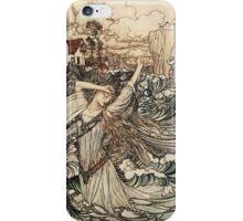 Arthur Rackham  - Undine iPhone Case/Skin
