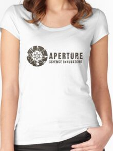 Aperture Science Innovations Women's Fitted Scoop T-Shirt
