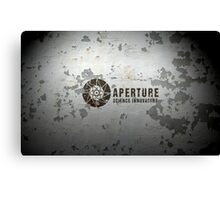 Aperture Science Innovations Canvas Print