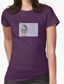 Clematis Greeting  With Poem T-Shirt