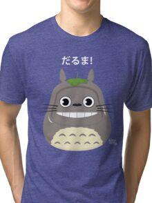 Totoro Daruma Tri-blend T-Shirt