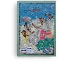 Relax Canvas Print