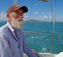 Richard Sailing on Cleveland Bay Townsville by Paul Gilbert