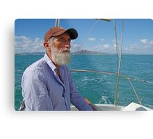 Richard Sailing on Cleveland Bay Townsville Metal Print