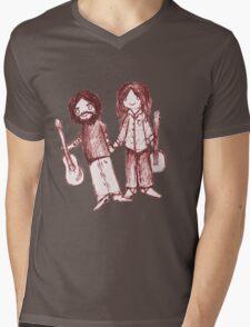 Country Couple Mens V-Neck T-Shirt