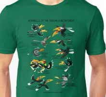 Hornbills of the Indian Subcontinent Unisex T-Shirt