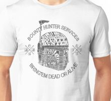 Hunter services. Unisex T-Shirt