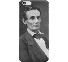 Abraham Lincoln - Photo - Close up iPhone Case/Skin