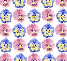 Pansies by KKartist