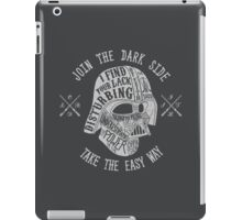 The easy way. (Alternate) iPad Case/Skin