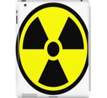 "Nuclear Hazard - ""Stay back!"" iPad Case/Skin"