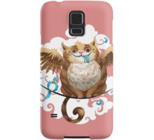 The Hungry Kitty Cat Samsung Galaxy Case/Skin