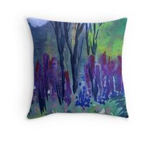 Hardwick Hall Herb Gardens, Derbyshire Throw Pillow